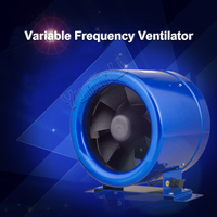 Direct Current Variable Frequency Blower Powerful Pipeline Air Blower Air Exchange Fan Air Ventilating Fan 150