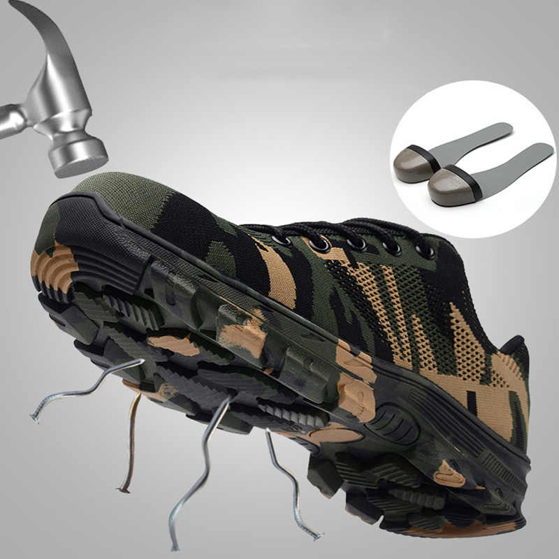 best sale authentic differently Weweya Unisex Indestructible Shoes Military Army Shoes Men ...