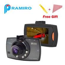 """Оригинальный G30 HD камера автомобиля 6 светодиодных ламп ночного видения Full HD1080P 2.7 """"Автомобильный видеорегистратор широкий угол обзора 140 градусов Даш Cam g-сенсор dashcam"""
