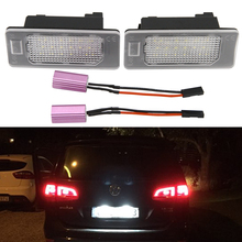 цена на 2x 24-SMD LED License Plate Light for VW Golf 6 Wagon Golf 7 Wagon Golf Plus Jetta 6 Passat B7 Wagon Sharan 2 Touran 2 Touareg 2