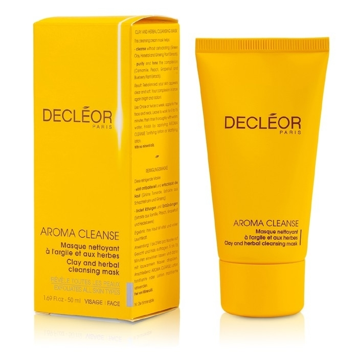 Decleor - Aroma Cleanser Clay and Herbal Mask herbal muscle
