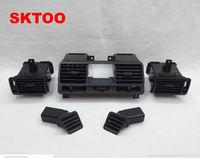 SKTOO 5 PCS Car Ar Condicionado Saída de Ventilação Para Mitsubishi Pajero Montero V31 V32 V33 V43 V24 V44 1990-2004 Saída de ar-condicionado