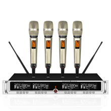 Wireless microphone one for four SKM9000 U segment stage performance lava clip home handheld headset conference