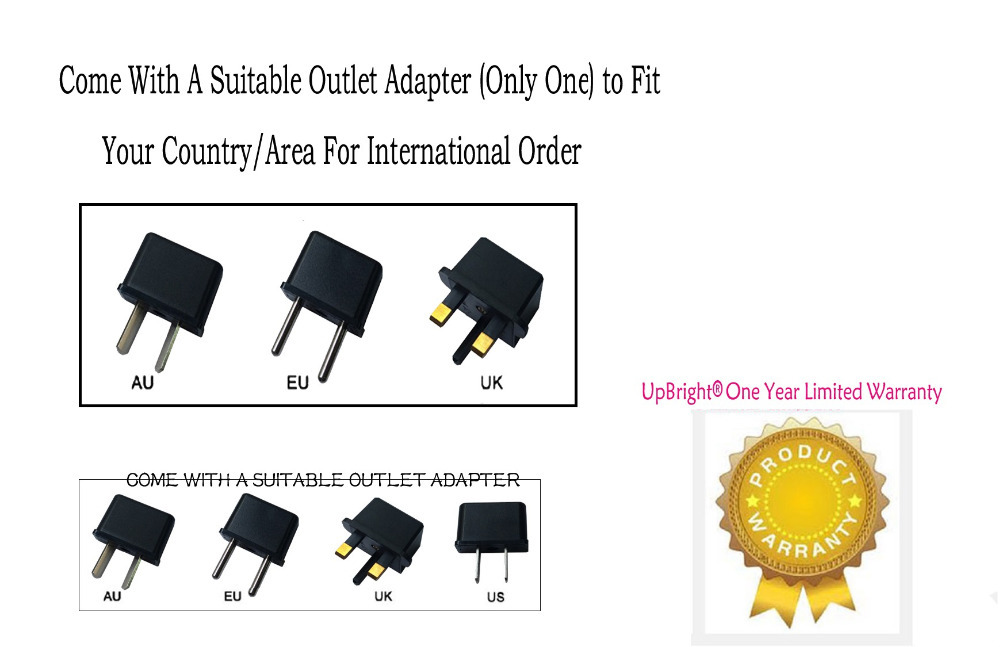 US $15 99 |UpBright New AC / DC Adapter For Yamaha DGX 500 DGX 505  Keyboard, YPG 225 DGX 220 YDD 60 DD 65, PSRE213 PSRE4032 YAMEZ20 PSRGX76-in  AC/DC