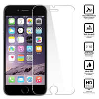 2 Pz/lotto 0.26mm 9 H HD Vetro Temperato Protezione Dello Schermo Per iPhone di Apple 8 8 Plus Ultra Sottile Antigraffio Pellicola Protettiva