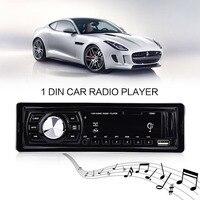 1 Din Car Radio Player Car MP3 Player Audio Stereo Bluetooth LED FM Receiver Remote Control