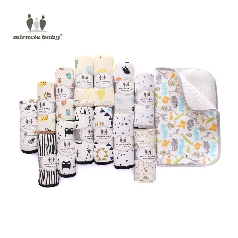 Cambiantes almohadillas cubiertas reutilizables pañales colchón para ...