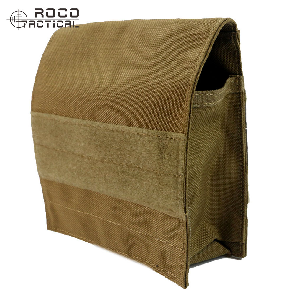 ROCOTACTICAL Nylon Tactical Waist Packs Molle Combat Magazine Pouch Bag For 4pcs M4 Military Increament Utility Bag Army Green