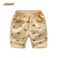 Cartoon Car Printed Boys Pants Summer Casual Kids Cargo Pants New Fashion Kids Pants Boy Trousers