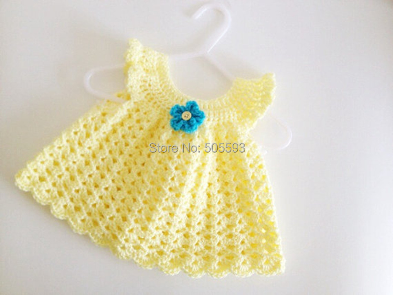 2014 Baby Girl Dress Handmade Dress Pattern Home Dress Newborn Frock