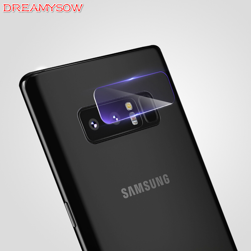 TOP Screen Protector Full Film Back Camera Lens Tempered Glass For Samsung Galaxy Note 8 S8 Plus Note 4 Note 5 S6 Edge S7 Edge