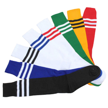 Unisex Fashion Long Socks Floor Women Men 8 Colors Stripe Cheerleader Knee High Sock Sexy Cute Boots Skateboard Socks Girls Boys(China)