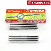 6 개/상자 독일 stablio 7890 그립 연필 3.15 미리메터 HB 기계 연필 리드 코어 활동 연필 리필 원활하게 작성 포함 escolar