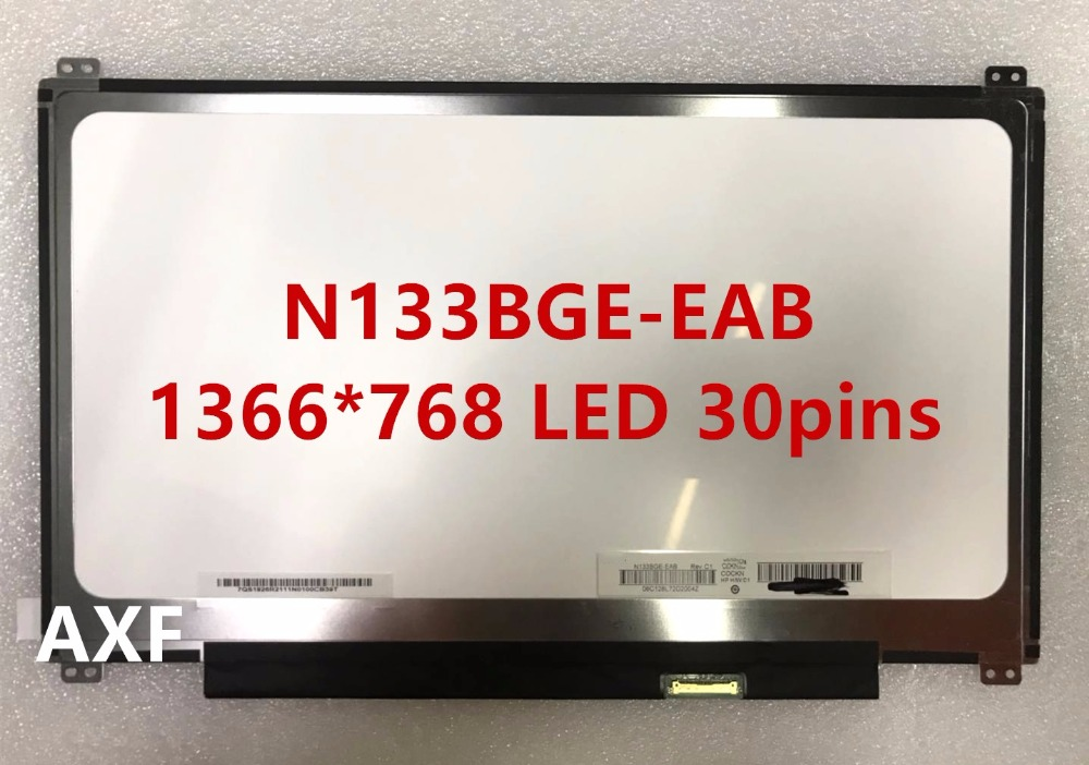 Free Shipping ! HB133WX1-402 N133BGE-EAB B133XTN01.2 / 3 M133NWN1 R1 R3 30pins EDP for Acer S5 S5-391 Laptop LED Display Screen r b parker s the devil wins