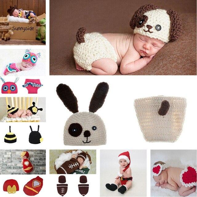 Lovely Puppy perro del diseño del bebé del ganchillo del sombrero ...