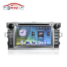 Free Shipping 7″ Car audio video For TOYOTA verso car dvd player with GPS Radio Bluetooth SD USB,Free 8GB map card