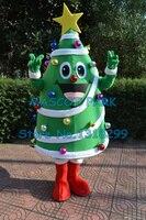 Продвижение Merry Рождество дерево талисмана с большой желтой звезды и красочные шарики новые праздник Масленицы нарядное платье комплекты
