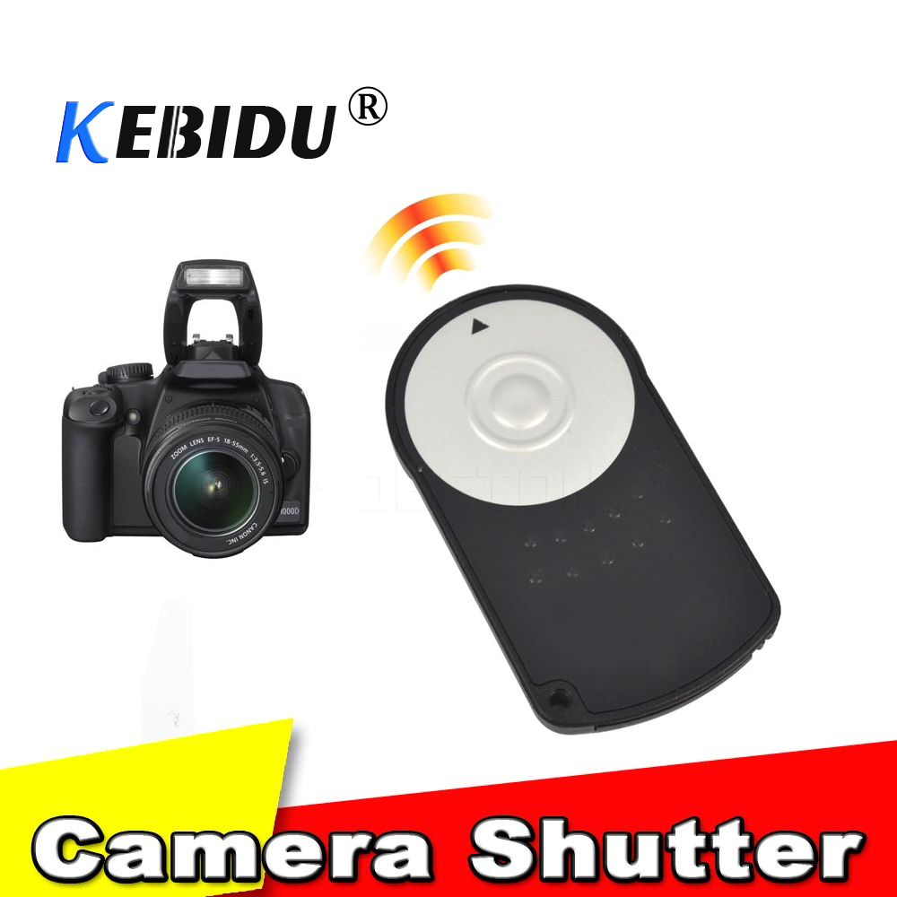 Generous Kebidu Rc-6 Ir Infrared Wireless Remote Control Shutter Release For Canon Eos 7d 5d Mark Ii Iii 6d 500d 550d 600d 650d 700d Vivid And Great In Style