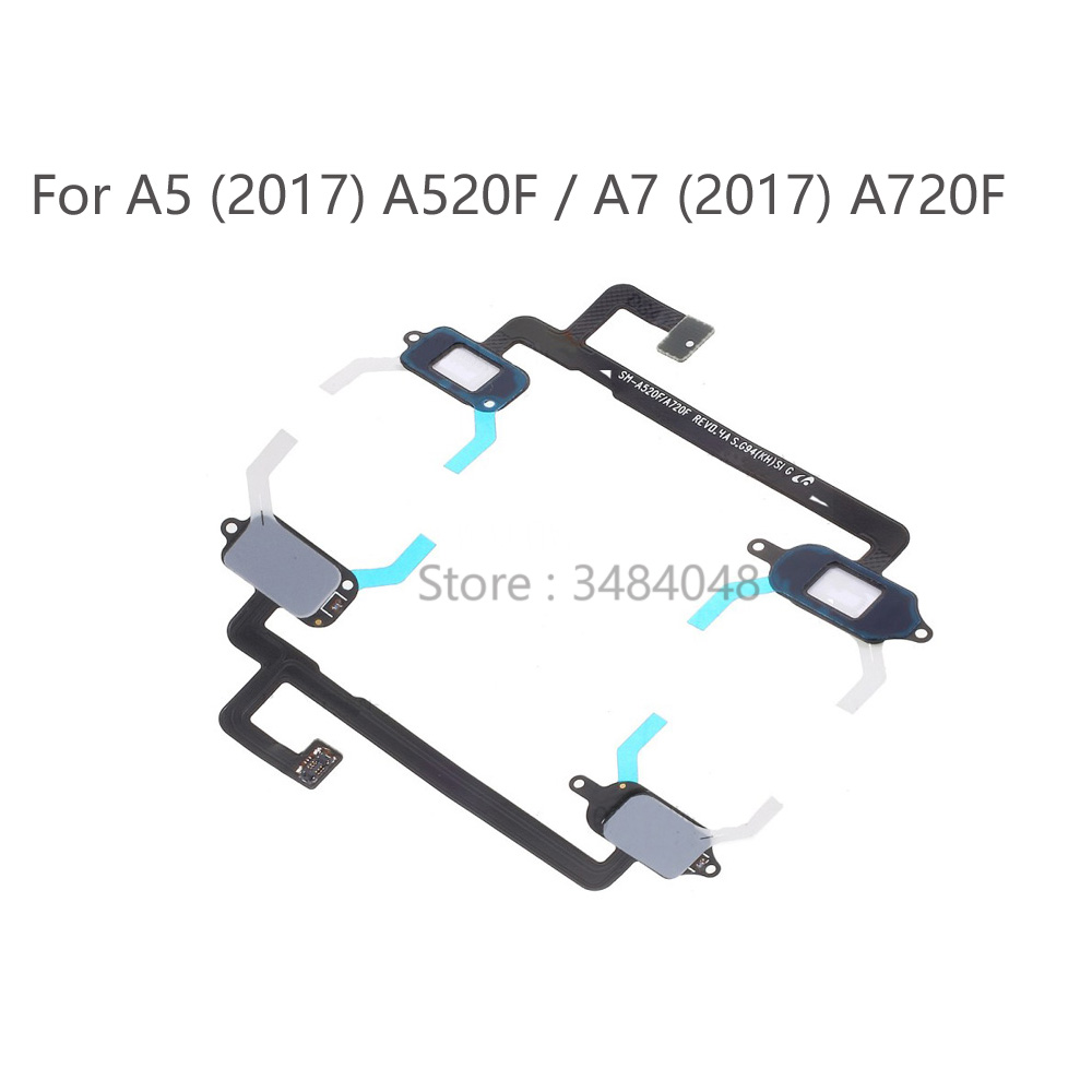 OEM Home Button Touch Light Sensor Flex Cable Ribbon For Samsung Galaxy A5 (2017) A520 / A7 (2017) A720