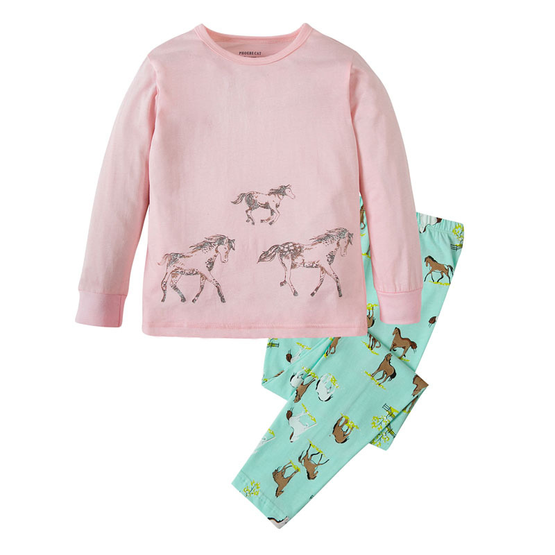 Popular Girls Horse Pajamas-Buy Cheap Girls Horse Pajamas lots ...