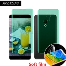 HOLAZING New No Required Water Hydrogel Film 4D Full Coverage Screen Protector for Meizu M15/15 Lite 5.46