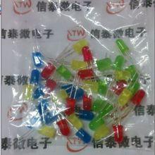 40 шт./упаковка 5 мм светодиодный диодный свет Ассорти Набор diy cветодиоды набор белый желтый красный зеленый синий электронный diy комплект