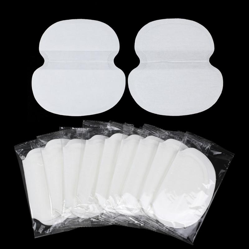 200Pcs Cotton Underarm Sweat Pads For Summer Dress Clothing Anti Sweat Armpit Absorbent Pads Big Size Deodorants Shield Stickers