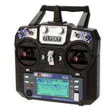 Отправка в течение 24 часов 2,4 ГГц 6CH Flysky FS-i6 AFHDS 2A радиопередатчик для радиоуправляемого вертолета планера с FS-iA6 приемником