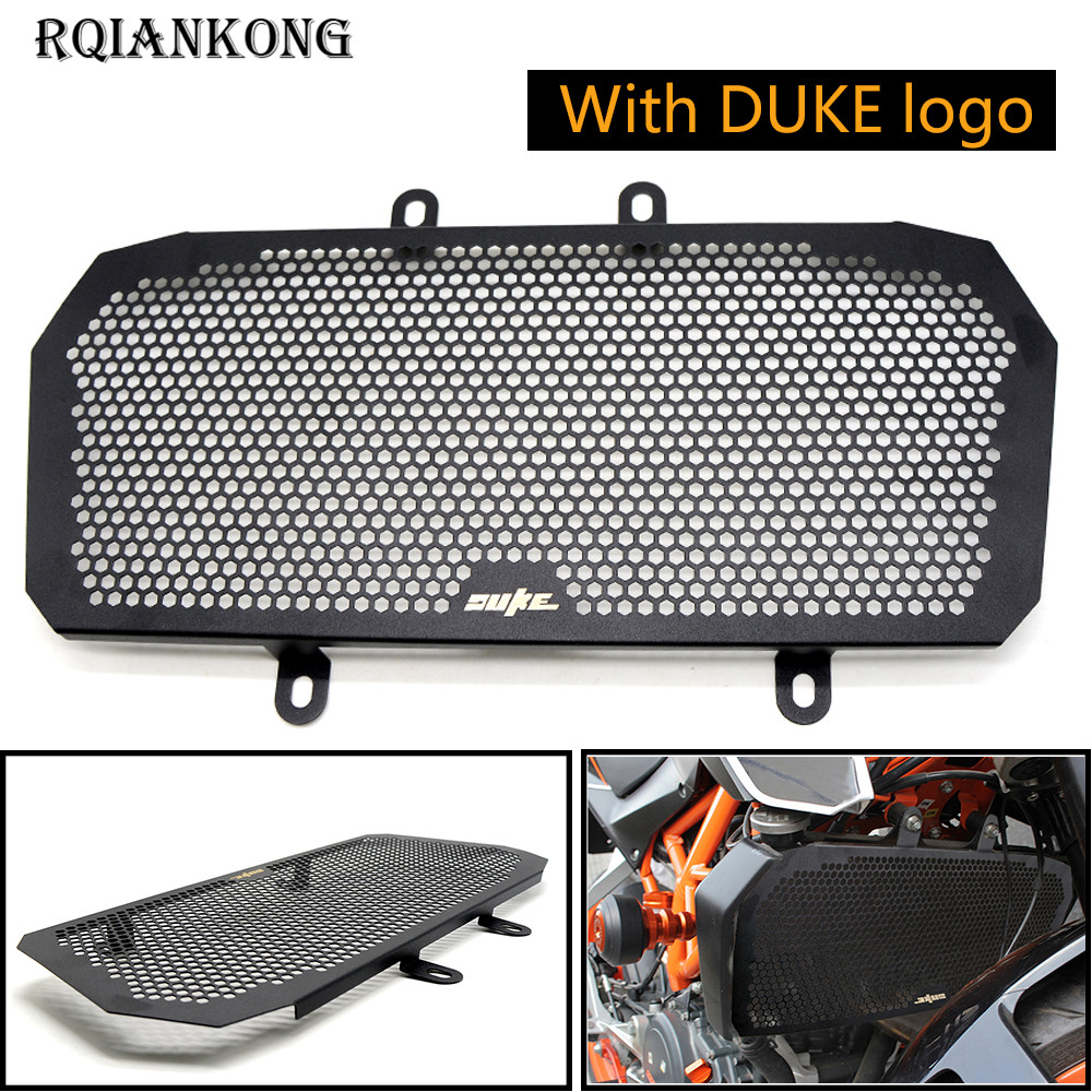 2018 Hot For KTM DUKE 390 DUKE390 2013 2014 2015 2016 Stainless Steel Motorcycle Accessories Front Grill Guard Protection image