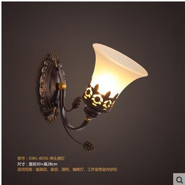 где купить Iron Jade Pendant Light American Village Restaurant Living Room Bedroom European Pastoral Mediterranean Simple Garment CL FG286 по лучшей цене