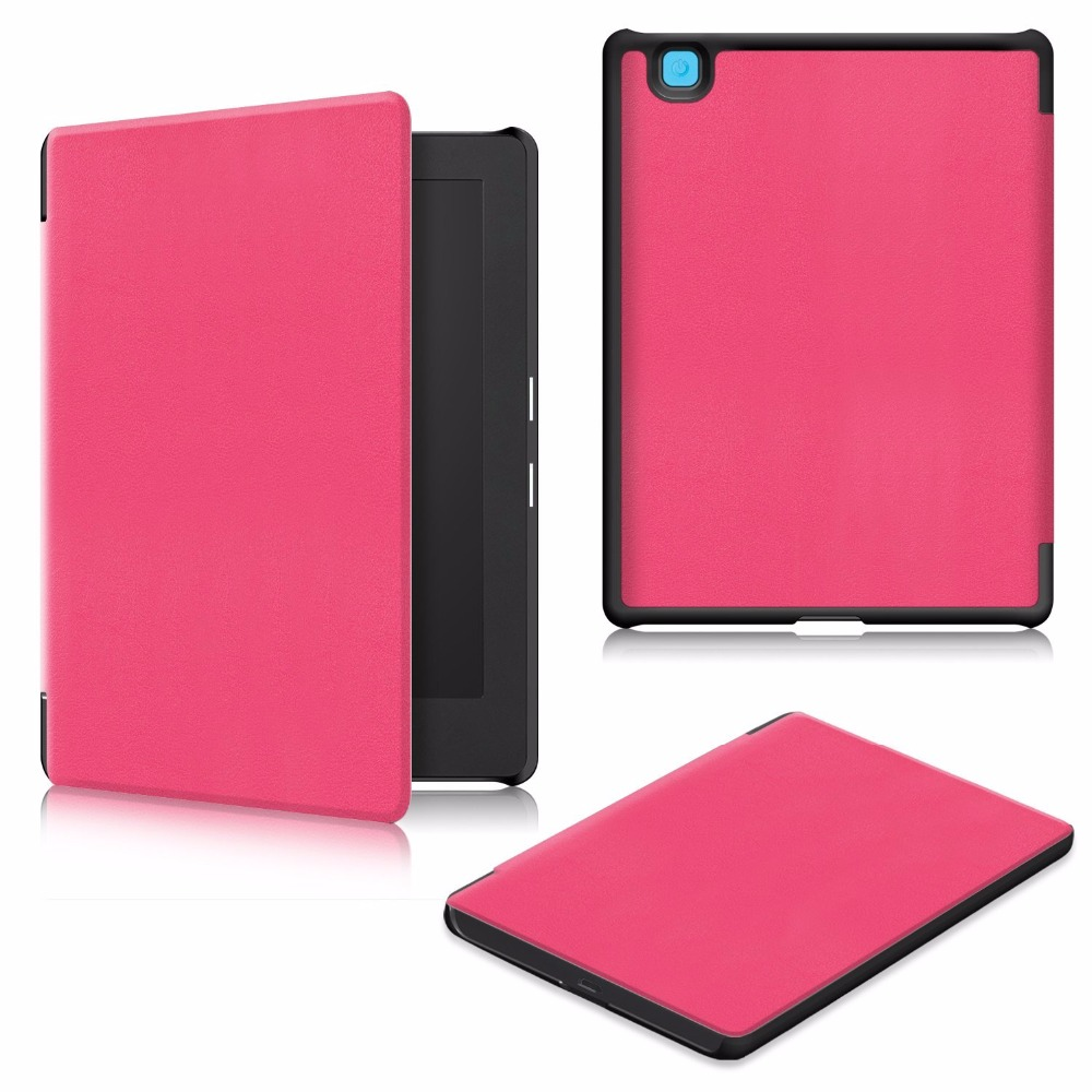 Pu leather cover case for 2017 new release kobo aura h2o for Housse kobo aura h2o edition 2