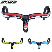 Specials Full Carbon Fiber Road Bicycle Integrated Handlebar With Stem Carbon Road Handlebar Bike Parts 28