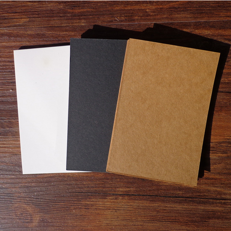 20pcs 3 Colors Blank Vintage Kraft Paper Postcard Message Card Greeting Card For DIY Hand Painted Graffiti 14.8x10cm