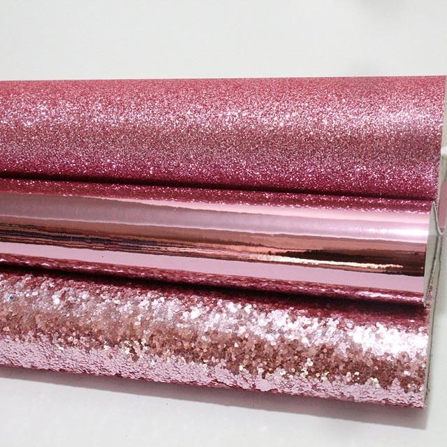 3 PCS 21X29 CM A4 brilho espelho suprimentos de material de tecido de couro do PLUTÔNIO para o ofício DIY artesanato acessórios