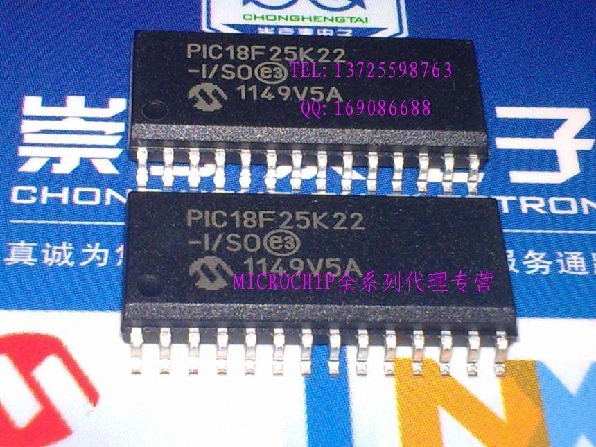 Module PIC18F25K22-I/SO SOIC28 Original authentic and new Free Shipping