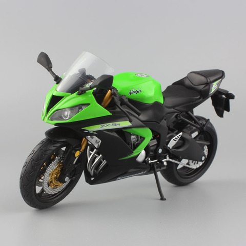 1:12 scale mini Kawasaki Ninja ZX-6R Sport bike metal Motorcycle diecast sport road racing model collection car toy for children Pakistan