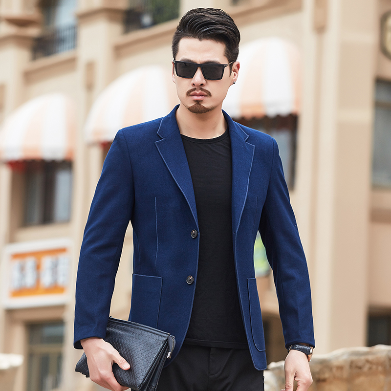 New Business Casual Arrival Luxury Men Blazer New Spring And Autu Fashion Brand High Quality Slim Fit Men Suit  Blazers Men 4XL