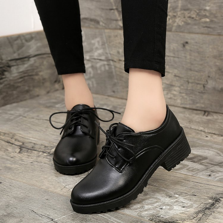 2018 Spring Women Britain Style Oxford Shoes Female Casual