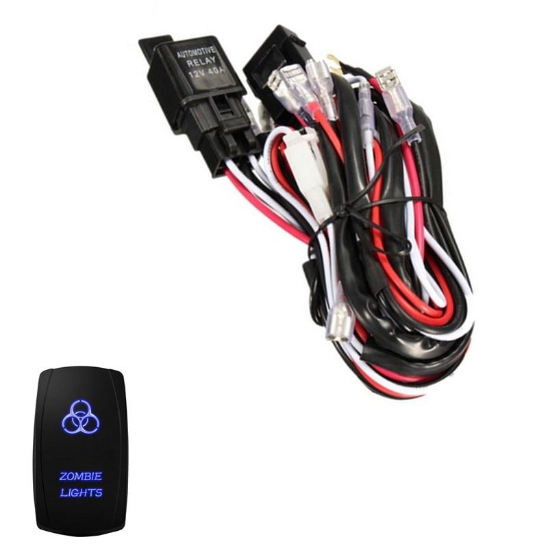 u2022 ee support 40a 300w wiring harness kit led light bar laser rh sites google com wiring harness support bracket