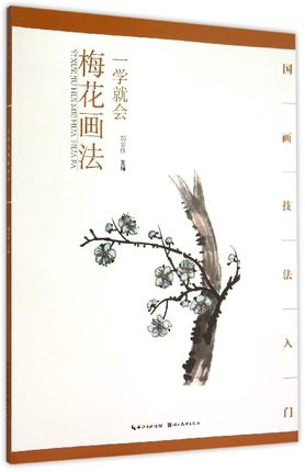 Chinese Traditional Plum Flower Painting Art Book