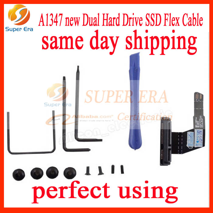Contemplative New Dual Hard Drive Ssd Flex Cable Fits Mac Mini A1347 Server 076-1412 922-9560 Hdd Cable 821-1347-a 821-1501-a 821-0894-a To Be Renowned Both At Home And Abroad For Exquisite Workmanship Skillful Knitting And Elegant Design Computer & Office