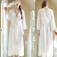 White Lace Pregnant Woman Chiffon Dress Cardigan Pajamas Clothes Pregnancy Interest Nightgown Maternity Photography Dress YL399