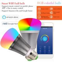 Kaigelin Smart APP WIFI LED Bulb V3 LED Dimmer Wifi Smart Light Bulb RGB E27 B22