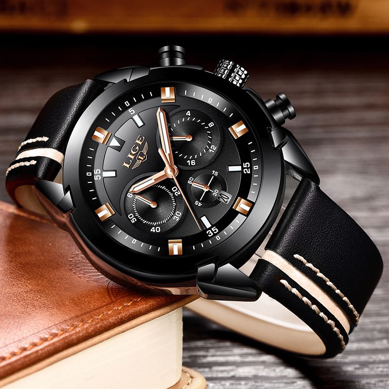 Men's Military Sports Watch Multi-Functional Waterproof Quartz Watch