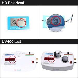 Image 2 - 2020 HD الاستقطاب النظارات الشمسية المستديرة المعدنية Steampunk الرجال النساء نظارات الموضة العلامة التجارية مصمم ريترو خمر النظارات الشمسية UV400