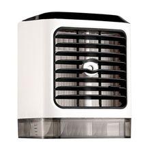 цены на Portable Air Conditioner Personal Space Cooler Humidifier Moist Low Noise Purifies Air LED Light Evaporative Small Desk Fan Mini  в интернет-магазинах