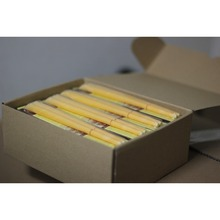 51 pairs/lot,Chamomile natural trumpet beewax ear candle with protective disc,Without Burning Smoke +CE approval,freeshipping