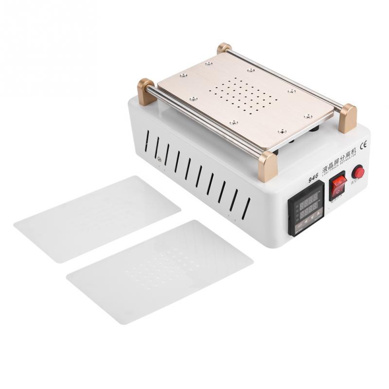 1 Set LCD Screen Separator Machine 7in Vacuum Air Pump Screen Separator Screen Repair for Mobile Phone Tablet EU Plug 220V