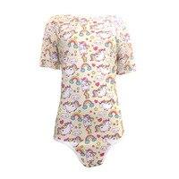 TEN NIGHT Women Onesie Adult Baby Unicorn Pajamas Abdl Romper Snap Crotch