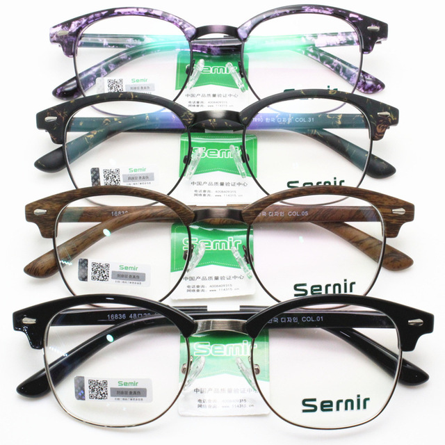 Fashion Restore Ancient Ways Round Plain Glass Mirror Will Frame Glasses Frame Thin Legs Light Tr 90 Myopia Spectacle Frame